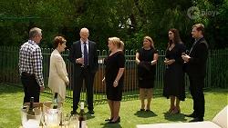 Karl Kennedy, Susan Kennedy, Clive Gibbons, Sheila Canning, Terese Willis, Dipi Rebecchi, Shane Rebecchi in Neighbours Episode 8330
