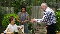 Susan Kennedy, Elly Conway, Karl Kennedy in Neighbours Episode 8331