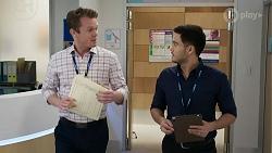 Dr Bowman, David Tanaka in Neighbours Episode 8331