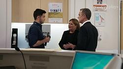 David Tanaka, Terese Willis, Paul Robinson in Neighbours Episode 8331