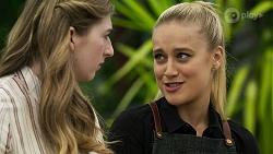 Mackenzie Hargreaves, Roxy Willis in Neighbours Episode 8333
