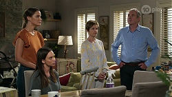 Elly Conway, Bea Nilsson, Susan Kennedy, Karl Kennedy in Neighbours Episode 8334