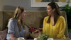 Mackenzie Hargreaves, Trish Symington in Neighbours Episode 8334