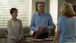 Susan Kennedy, Karl Kennedy, Claudia Watkins in Neighbours Episode 8334