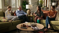 Susan Kennedy, Karl Kennedy, Bea Nilsson, Elly Conway in Neighbours Episode 8334