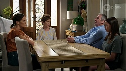 Elly Conway, Susan Kennedy, Karl Kennedy, Bea Nilsson in Neighbours Episode 8335