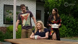 Kyle Canning, Sheila Canning, Dipi Rebecchi in Neighbours Episode 8335