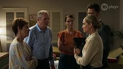 Susan Kennedy, Karl Kennedy, Elly Conway, Sky Mangel, Mark Brennan in Neighbours Episode 8336