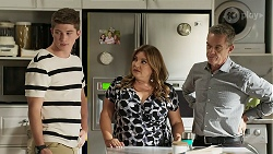 Hendrix Greyson, Terese Willis, Paul Robinson in Neighbours Episode 8336