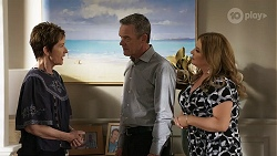 Susan Kennedy, Paul Robinson, Terese Willis in Neighbours Episode 8336