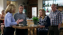 Claudia Watkins, Paul Robinson, Sheila Canning, Clive Gibbons in Neighbours Episode 8336