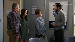 Karl Kennedy, Bea Nilsson, Susan Kennedy, Paddy Kaye in Neighbours Episode 8339
