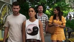 Ned Willis, Yashvi Rebecchi, Shane Rebecchi, Dipi Rebecchi in Neighbours Episode 8339
