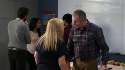 Paddy Kaye, Sheila Canning, Karl Kennedy in Neighbours Episode 8339