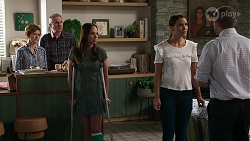 Susan Kennedy, Karl Kennedy, Bea Nilsson, Elly Conway, Toadie Rebecchi in Neighbours Episode 8340