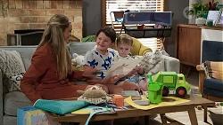 Sky Mangel, Nell Rebecchi, Hugo Somers in Neighbours Episode 8340