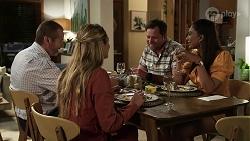 Toadie Rebecchi, Sky Mangel, Shane Rebecchi, Dipi Rebecchi in Neighbours Episode 8340