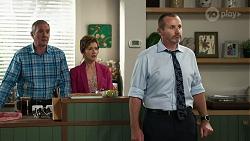 Karl Kennedy, Susan Kennedy, Toadie Rebecchi in Neighbours Episode 8340