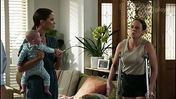 Aster Conway, Elly Conway, Bea Nilsson in Neighbours Episode 8341