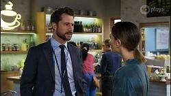 Mark Brennan, Elly Conway in Neighbours Episode 8341