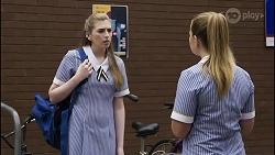 Mackenzie Hargreaves, Harlow Robinson in Neighbours Episode 8341