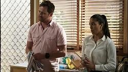 Shane Rebecchi, Yashvi Rebecchi in Neighbours Episode 8341