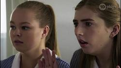 Harlow Robinson, Mackenzie Hargreaves in Neighbours Episode 8341