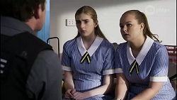 Dax Braddock, Mackenzie Hargreaves, Harlow Robinson in Neighbours Episode 8342