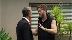 Paul Robinson, Mannix Foster in Neighbours Episode 8342