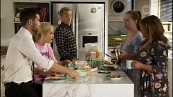 Ned Willis, Roxy Willis, Paul Robinson, Harlow Robinson, Terese Willis in Neighbours Episode 8343