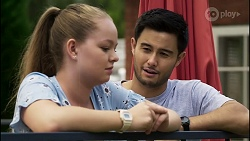 Harlow Robinson, David Tanaka in Neighbours Episode 8343