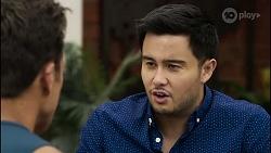 Aaron Brennan, David Tanaka in Neighbours Episode 8343