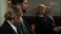 Sky Mangel, Mark Brennan, Claudia Watkins in Neighbours Episode 8345