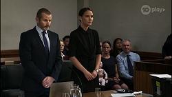 Toadie Rebecchi, Chloe Brennan, Elly Conway, Bea Nilsson, Karl Kennedy in Neighbours Episode 8345