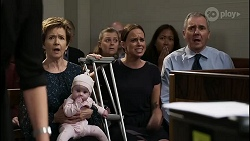 Susan Kennedy, Aster Conway, Bea Nilsson, Karl Kennedy in Neighbours Episode 8345