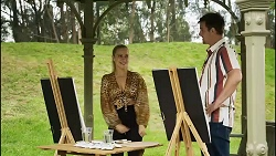Roxy Willis, Kyle Canning in Neighbours Episode 8345