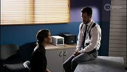 Elly Conway, Mark Brennan in Neighbours Episode 8345