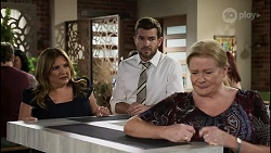 Terese Willis, Ned Willis, Sheila Canning in Neighbours Episode 8345
