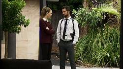 Chloe Brennan, Mark Brennan in Neighbours Episode 8345