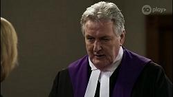 Claudia Watkins, Judge Joseph Vagg in Neighbours Episode 8345