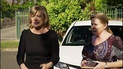 Claudia Watkins, Sheila Canning in Neighbours Episode 8346