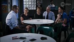 Toadie Rebecchi, Bea Nilsson, Susan Kennedy, Karl Kennedy, Aster Conway, Elly Conway in Neighbours Episode 8346