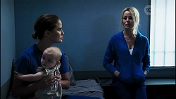 Elly Conway, Aster Conway, Andrea Somers in Neighbours Episode 8346