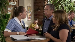 Harlow Robinson, Paul Robinson, Terese Willis in Neighbours Episode 8346