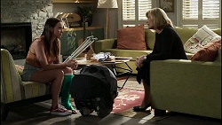 Bea Nilsson, Claudia Watkins in Neighbours Episode 8347