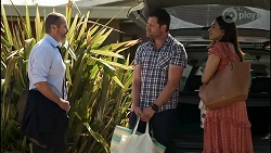 Toadie Rebecchi, Shane Rebecchi, Dipi Rebecchi in Neighbours Episode 8347