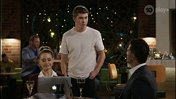 Chloe Brennan, Hendrix Greyson, Pierce Greyson in Neighbours Episode 8347