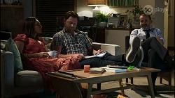 Dipi Rebecchi, Shane Rebecchi, Toadie Rebecchi in Neighbours Episode 8347