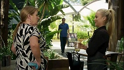 Sheila Canning, Kyle Canning, Roxy Willis in Neighbours Episode 8348
