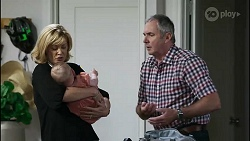 Claudia Watkins, Aster Conway, Karl Kennedy in Neighbours Episode 8350